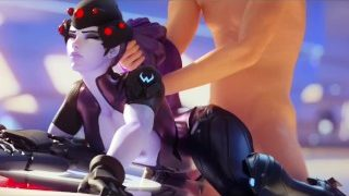 Overwatch – widowmaker doggy